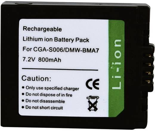 CGR-S006, CGR-S006E, CGR-S006E/1B Panasonic kamera akku 7,2 V 700 mAh, Conrad energy