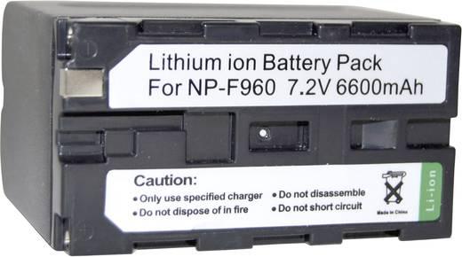 NP-F550, NP-F750, NP-F930, NP-F950, NP-F960, NP-F970 Sony kamera akku 7,2V 6600 mAh, Conrad energy