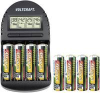 Jubileumi ajánlat, Voltcraft akkutöltő 8 db Endurance ceruzaakkuval Conrad energy