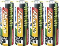 Ceruza akku AA, NiMH, 1,2V 2300 mAh, 4 db, Conrad Energy Endurance LR06, AA, LR6, AAB4E, AM3, 815, E91, LR6N (251080) Conrad energy