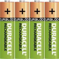 Mikroceruza akku AAA NiMH, 1,2V 800 mAh, 4 db, Duracell HR3, HR03, UO100557, DC2400, DC2400B4N, LR03 (DUR203822) Duracell