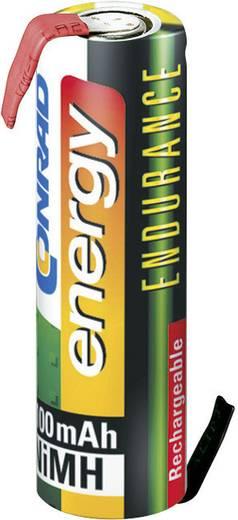 Forrasztható ceruza akku AA NiMH 1,2V 2000 mAh, forrfüles, Conrad Energy Endurance