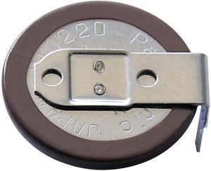 VL2020 gombakku lítium, beforrasztható, fekvő, 3 V 20 mAh, Panasonic VL2020-1HFE Panasonic