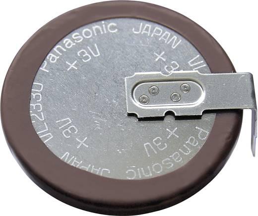 VL2330 gombakku lítium, beforrasztható, fekvő, 3 V 50 mAh, Panasonic VL2330-1HFE