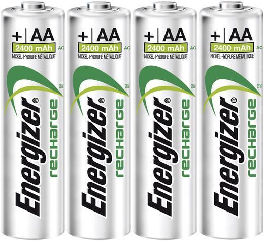 Ceruza akku AA, NiMH, 1,2V 2400 mAh, 4 db, Energizer Precision LR06, AA, LR6, AAB4E, AM3, 815, E91, LR6N