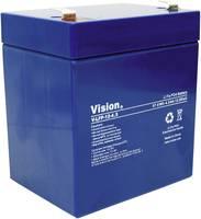 Lítium vas-foszfát akku, Vision 12 V 4,5 Ah (H x Sz x Ma) 90 x 70 x 101 mm Vision Akkus