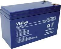 Lítium vas-foszfát akku, Vision 12 V 4,5 Ah (H x Sz x Ma) 150 x 65 x 105 mm Vision Akkus