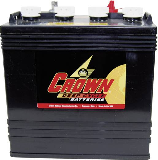Ólomakku 8 V 165 Ah Crown Battery CR165 1439 Ólom-savas 262 x 273 x 181 mm Kis karbantartási igény,Ciklusálló