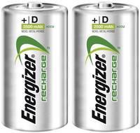 Góliát akku D NiMH, 1,2V 2500 mAh, 2 db, Energizer HR20, LR20, D, AM1, XL, MN1300, 813, E95, LR20N, 13A (635675) Energizer