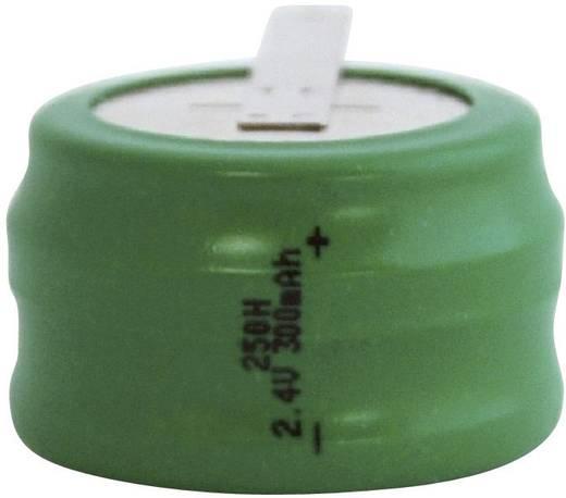 250H gombakku NiMH, Z forrfüles, forrasztható, 2,4 V 300 mAh, Emmerich