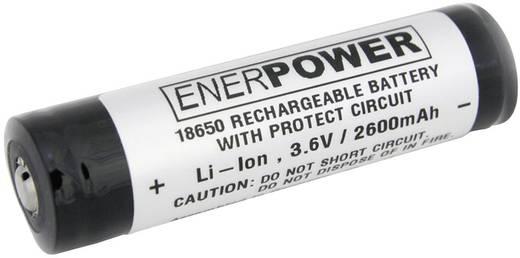 Speciális akku 18650 Li-Ion 3,6V 2600 mAh, Enerdan