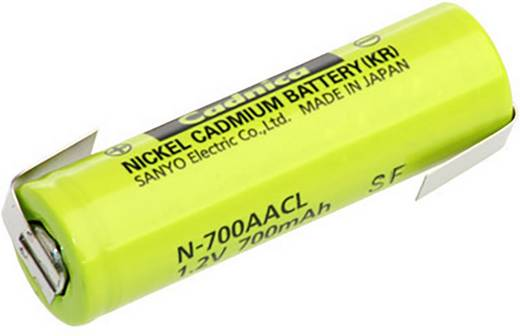 Sanyo NiCd forrfüles ceruza akkumulátor AA 1.2V 700mAh