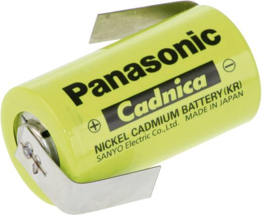 Panasonic NiCd forrfüles Sub-C akkumulátor 1.2V 1700mAh