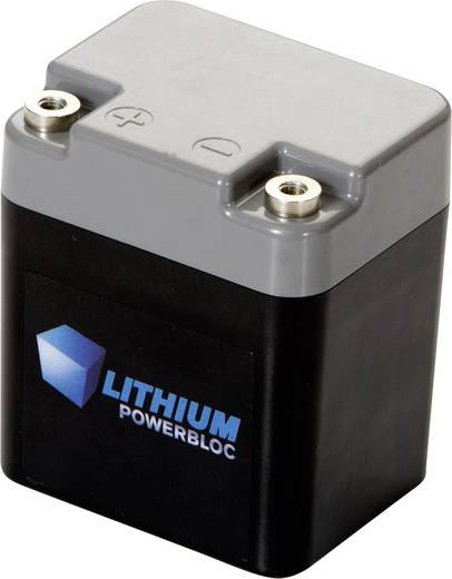 Lítium Powerbloc, 3,3 Ah 13.2 V 3300 mAh (H x Sz x Ma) 95 x 64 x 82 mm