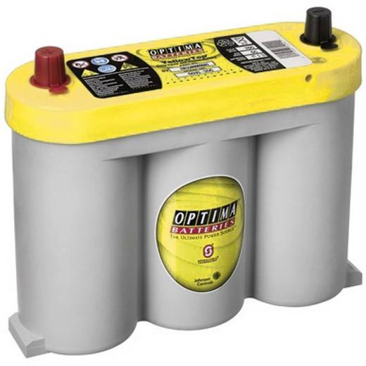 Ólomakku 6 V 55 Ah Optima Batteries YTS2.1 OptimaYTS2.1 Ólom-vlies (AGM) 254 x 203 x 90 mm Karbantartásmentes