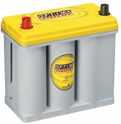 Ólomakku 12 V 38 Ah Optima Batteries YTS2.7J 8711760008882 Ólom-vlies (AGM) 237 x 227 x 129 mm Karbantartásmentes
