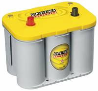 Ólomakku 12 V 55 Ah Optima Batteries YTS4.2 8122540008882 Ólom-vlies (AGM) 254 x 200 x 175 mm Karbantartásmentes (8122540008882) Optima Batteries