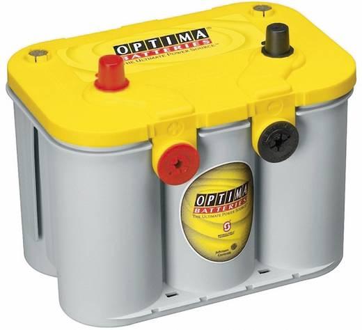 Ólomakku 12 V 55 Ah Optima Batteries YTU4.2 8142540008882 Ólomzselés (AGM) 254 x 200 x 175 mm M5 csavaros csatlakozó