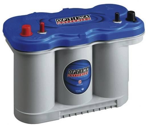 Ólomakku 12 V 75 Ah Optima Batteries BTDC5.5 8521880008882 Ólomzselés (AGM) 325 x 238 x 165 mm M5 csavaros csatlakozó