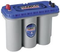 Ólomakku 12 V 75 Ah Optima Batteries BTDC5.5 8521880008882 Ólomzselés (AGM) 325 x 238 x 165 mm M5 csavaros csatlakozó (8521880008882) Optima Batteries