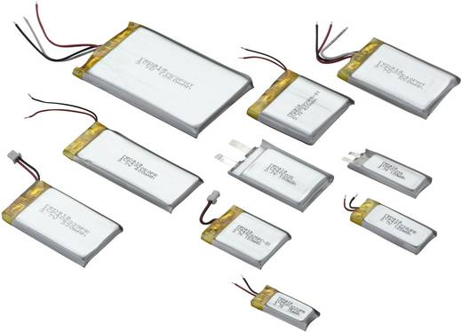 Renata lítium-polimer akku 3,7 V, 130 mAh, 31,5 x 12,5 x 5,4 mm, ICP50123PS
