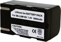 SB-LSM160 Samsung kamera akku 7,4 V 1400 mAh, Conrad energy Conrad energy