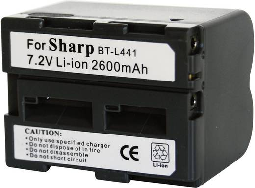BT-L441 Sharp kamera akku 7,2 V 2600 mAh, Conrad energy
