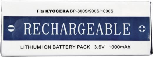BP-1100S Kyocera, Contax kamera akku 3,6 V 1000 mAh, Conrad energy