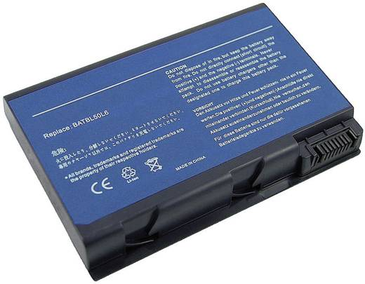Notebook akku Beltrona Eredeti akku: 60.48T22.001,909-2620,BT.T3907.002,BTP-73E1 14.8 V 4400 mAh
