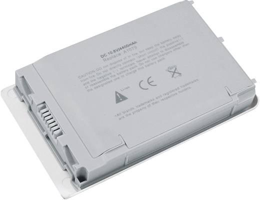 Apple PowerBook G4 Litium ion akkumulátor 4400mAh 10,8V Beltrona 252201