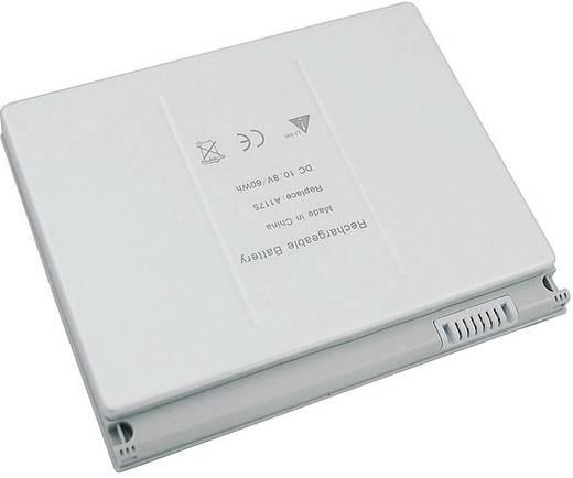 Notebook akku Beltrona Eredeti akku: A1175,MA348,MA348*/A,MA348G/A,MA348J/A 10.8 V 5800 mAh