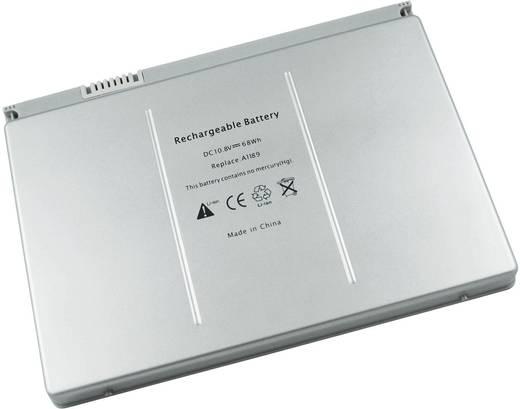 Notebook akku Beltrona Eredeti akku: A1189,MA458,MA458*/A,MA458G/A,MA458J/A 10.8 V 6300 mAh