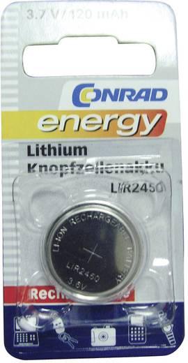 LIR2450 gombakku lítium, 3,6 V 120 mAh, Conrad Energy LIR2450