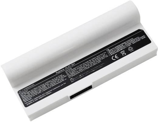 Notebook akku, fehér, Beltrona Eredeti akku: AL22-901,AL23-901,AP23-901 7.4 V 6600 mAh