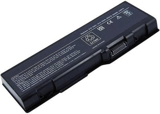 Litium ion laptop akkumulátor Dell típusokhoz 6600 mAh 11,1V Beltrona 252256