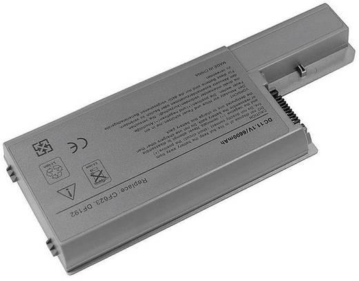 Litium ion laptop akkumulátor Dell típusokhoz 6600 mAh 11,1V Beltrona 252290