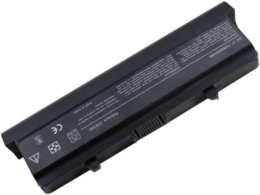 Litium ion laptop akkumulátor Dell típusokhoz 6600 mAh 11,1V Beltrona 252309