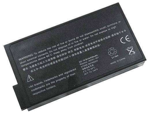 Litium ion laptop akkumulátor Compaq típusokhoz 4400 mAh 11,1V Beltrona 252332