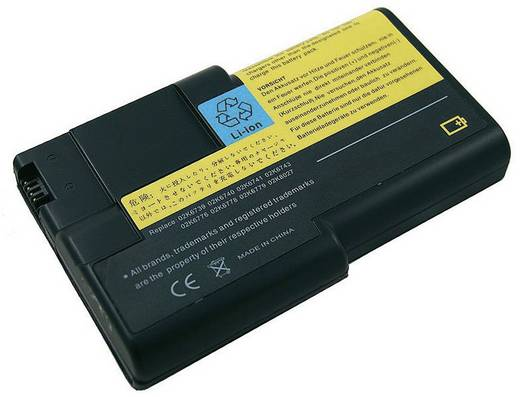 Litium ion laptop akkumulátor IBM típusokhoz 4400 mAh 10,8V Beltrona 252399