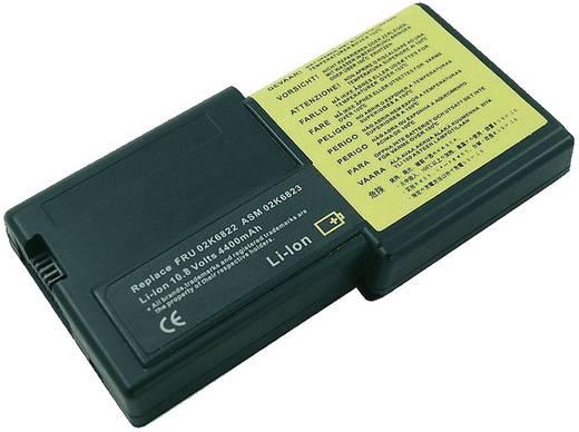 Litium ion laptop akkumulátor IBM típusokhoz 4400 mAh 10,8V Beltrona 252401