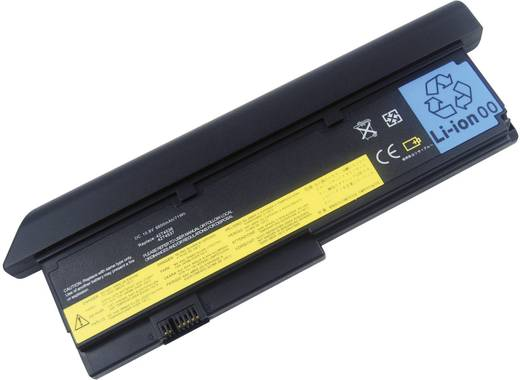 Litium ion laptop akkumulátor IBM és Lenovo típusokhoz 6600 mAh 10,8V Beltrona 252427