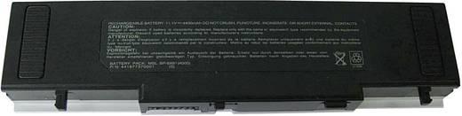 Litium ion laptop akkumulátor Medion, Mitac, Winbook, Lenovo, Cytron típusokhoz 4400 mAh 11,1V Beltrona 252430