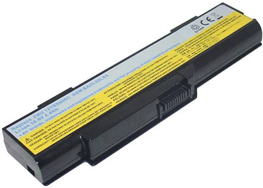 Notebook akku Beltrona Eredeti akku: ASM BAHL00L6S,FRU 121SS080C 10.8 V 4400 mAh