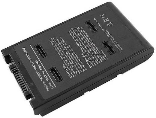 Litium ion laptop akkumulátor Toshiba típusokhoz 4400 mAh 10,8V Beltrona 252456