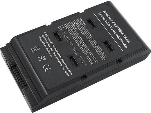 Litium ion laptop akkumulátor Toshiba típusokhoz 4400 mAh 10,8V Beltrona 252461