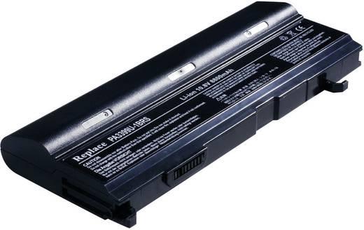 Litium ion laptop akkumulátor Toshiba típusokhoz 8800 mAh 10,8V Beltrona 252473