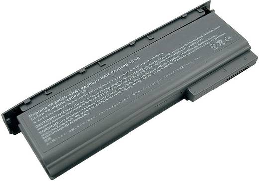 Litium ion laptop akkumulátor Toshiba típusokhoz 4400 mAh 10,8V Beltrona 252482
