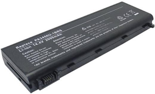 Litium ion laptop akkumulátor Toshiba típusokhoz 4400 mAh 14,4V Beltrona 252486