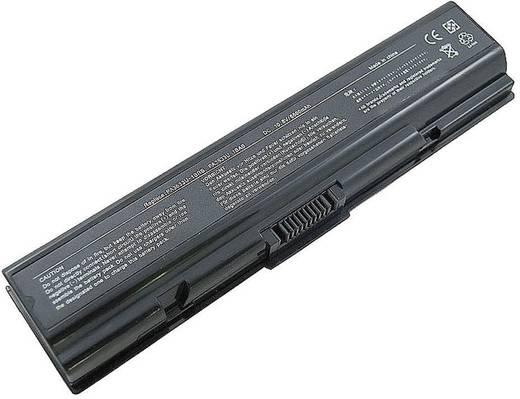 Litium ion laptop akkumulátor Toshiba típusokhoz 4400 mAh 10,8V Beltrona TOSPA3534