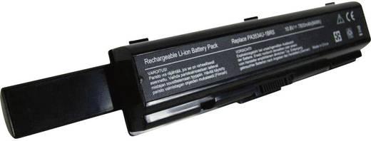 Litium ion laptop akkumulátor Toshiba típusokhoz 6600 mAh 10,8V Beltrona 252488